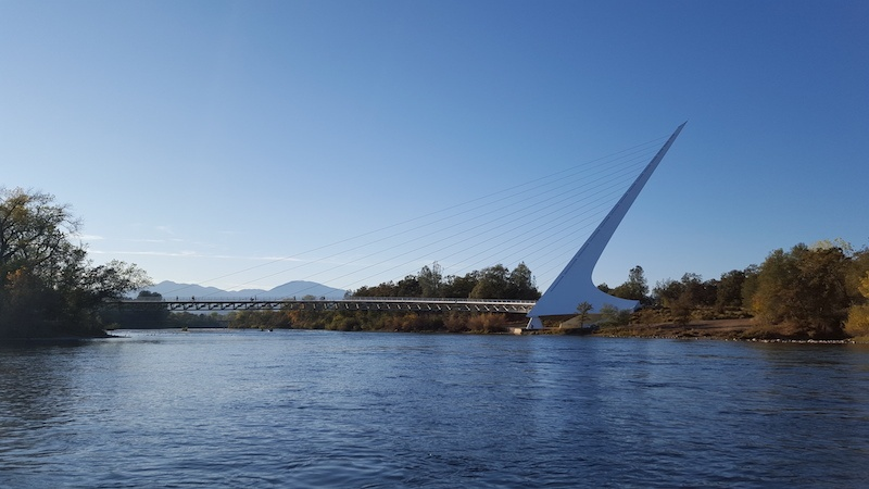 sacramento river fishing sundial bridge