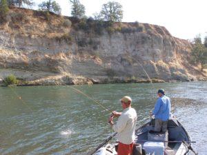double hookup fly fishing the sacramento river