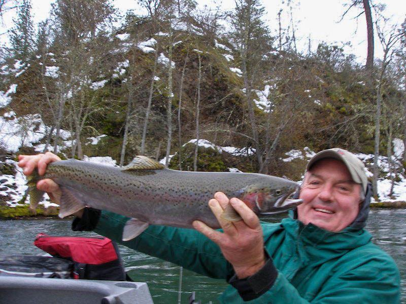 trinity river steelhead fishing guide