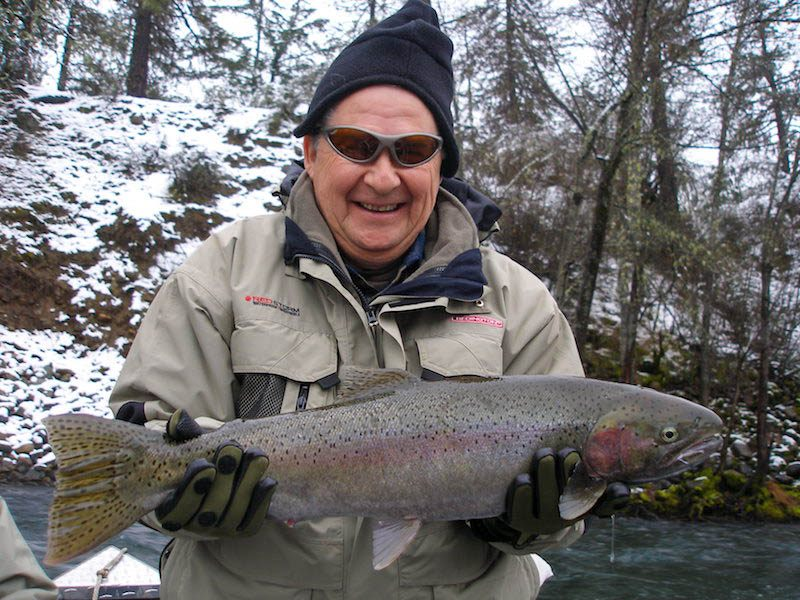 trinity river steelhead fishing guide