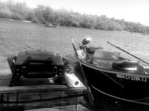 drift boat trip shore lunch